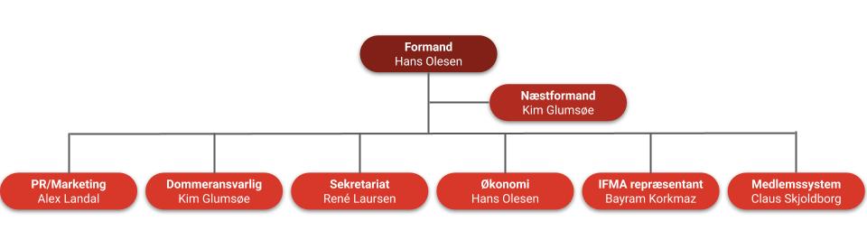 Organisationsplan Dansk Muaythai Forbund